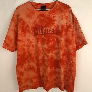 Men's Size XL Vintage Tommy Hilfiger Tie Dye Shirt
